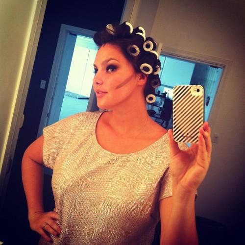 Candice Huffine selfie