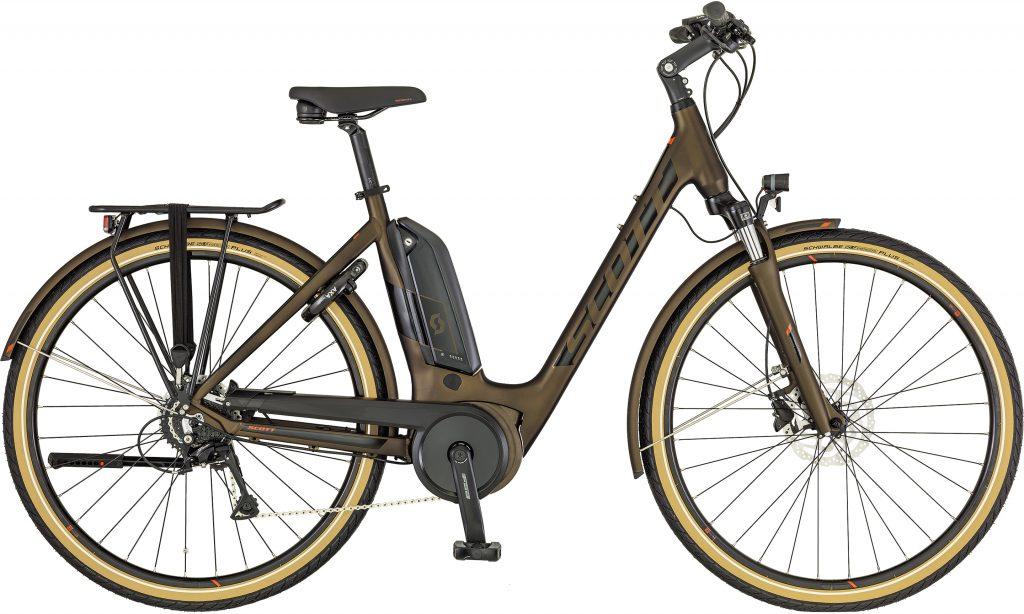 Comparatif vélo électrique Scott Sub Active eRide
