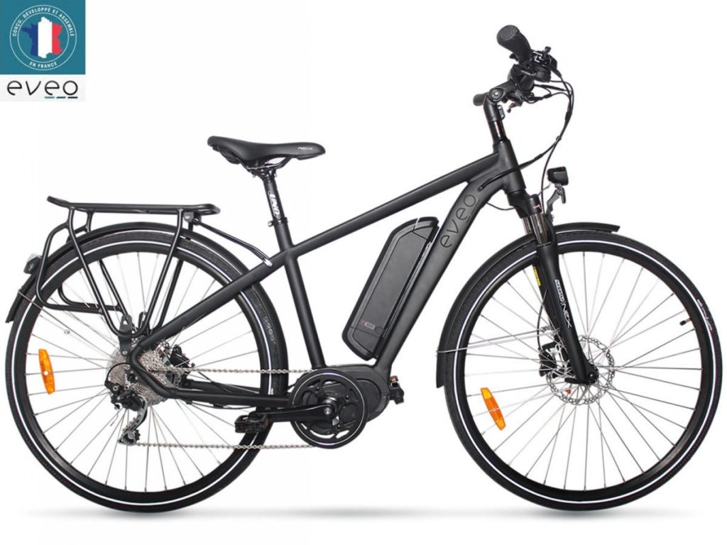 Comparatif vélo électrique Eveo 650