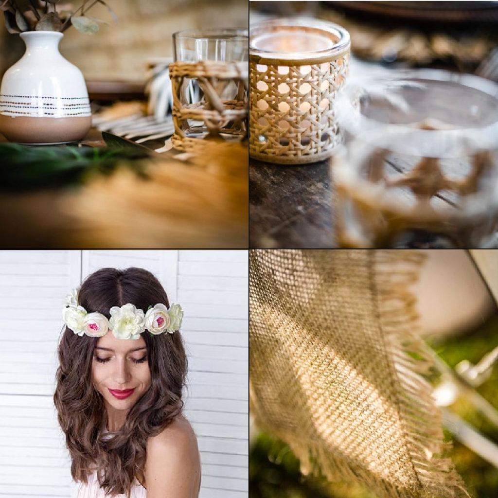 modern confetti sélection bohème chic mariage petit prix pas cher